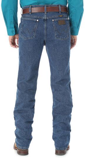 Wrangler Men's Cool Vantage Cowboy Cut 36 Slim Fit Jeans, Dark Stone, hi-res