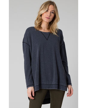 Z Supply Women's Black Weekend Shirt, Black, hi-res