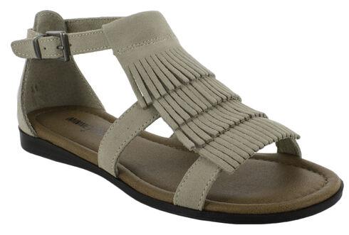 Minnetonka Women's Maui Sandals, Sand, hi-res
