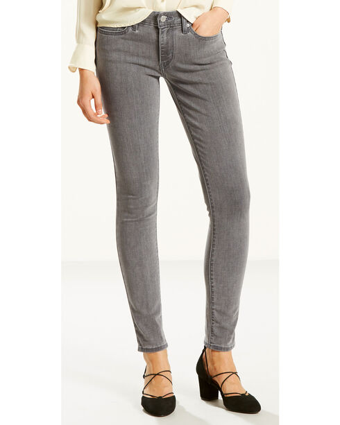 Levi's Women's Smoke and Mirrors 711 Jeans - Skinny , Indigo, hi-res