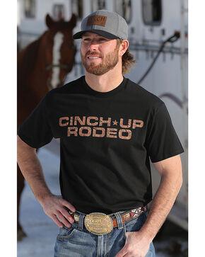 Cinch Men's Rodeo Short Sleeve Jersey Tee, Black, hi-res
