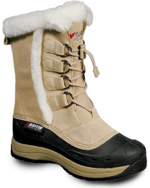 Baffin Women's Chloe Snow Boots - Round Toe, Sand, hi-res