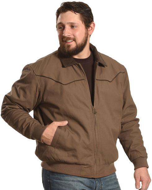 Cody James Men's Lone Star Jacket, Camel, hi-res