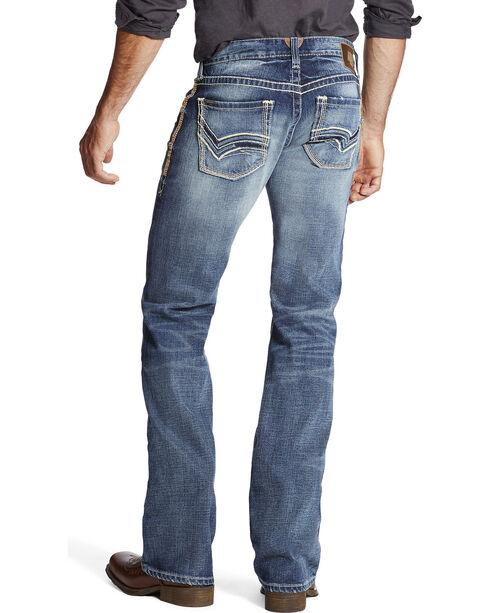 Ariat Men's Indigo M7 Serve Extra Slim Fit Jeans - Boot Cut, Indigo, hi-res
