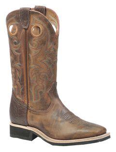 Boulet Rider Sole Cowboy Boots - Square Toe, , hi-res