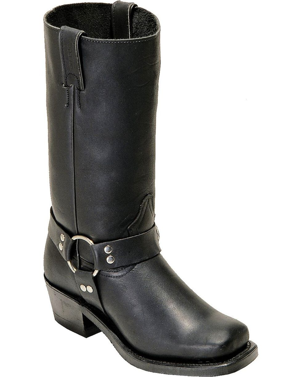Boulet Harness Motorcycle Boots - Square Toe, Black, hi-res