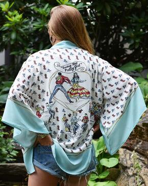 Tasha Polizzi Women's Square Dance Kimono, Multi, hi-res