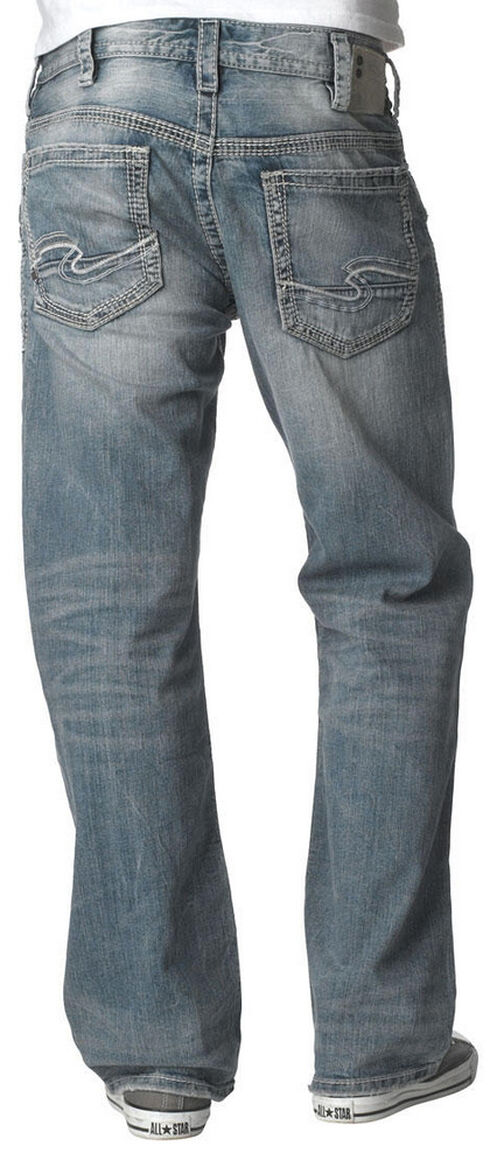 Silver Men's Gordie Loose Fit Jeans, Denim, hi-res