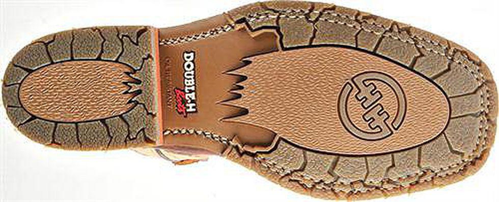 Double H Ice Saddle Cowboy Boots - Square Toe, Bison, hi-res