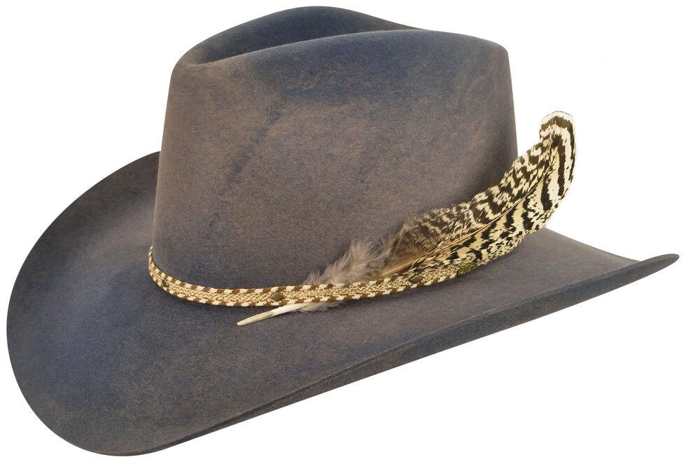 Renegade by Bailey Men's Lucius Slate Felt Hat, Blue, hi-res