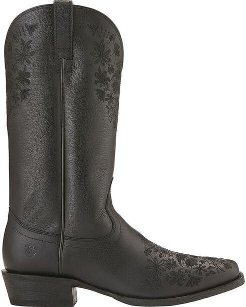 Ariat Women's Ardent Cowgirl Boots - Square Toe, Black, hi-res