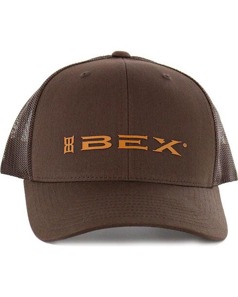 BEX Men's OG Snap Back Ball Cap, Brown, hi-res