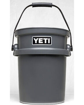 Yeti Charcoal Loadout Bucket , Charcoal, hi-res