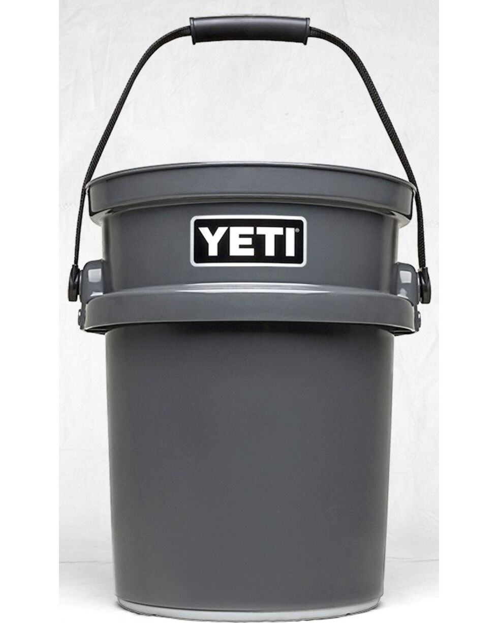 Yeti Charcoal Loadout Bucket , Charcoal, hi-res