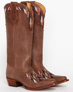 Shyanne Women's Fresno Embroidered Western Boots - Snip Toe, , hi-res