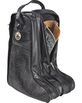 BB Ranch Black Boot Bag , Black, hi-res