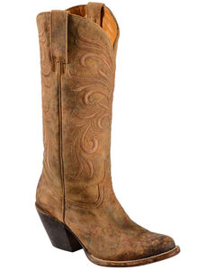 Lucchese Handmade 1883 Women's Laurelie Cowgirl Boots - Medium Toe, , hi-res