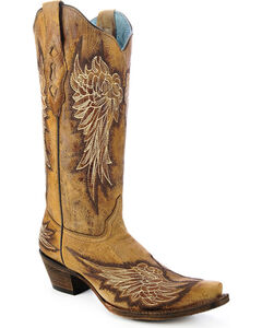 Corral Women's Wing Cowgirl Boots - Snip Toe, , hi-res