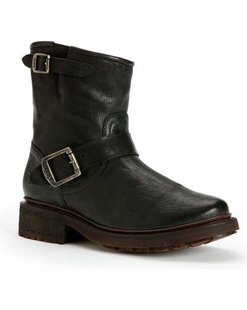Frye Women's Valerie 6 Shearling Ankle Boots, Black, hi-res