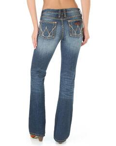 Wrangler Women's Retro Mae Jeans - Boot Cut , Blue, hi-res