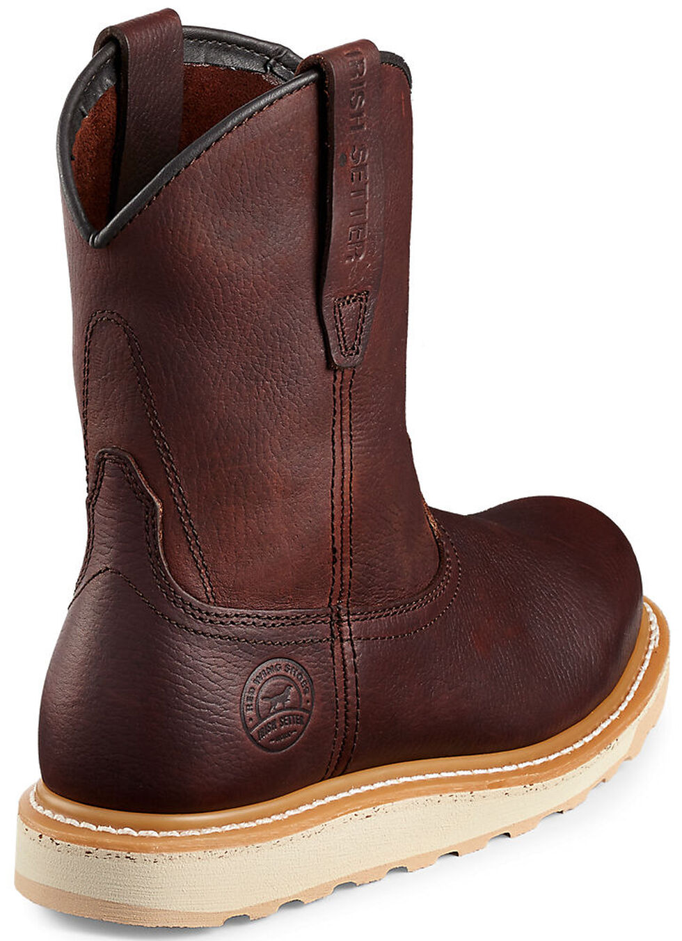 Irish Setter by Red Wing Shoes Men's Ashby EH Waterproof Work Boots - Aluminum Toe , Brown, hi-res