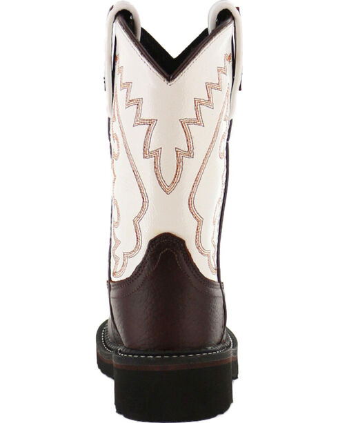 Cody James Boys' Crepe Western Boots - Round Toe , Brown, hi-res