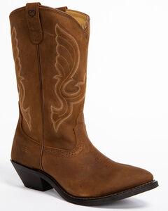 "Shyanne Women's 11"" Brown Western Boots - Medium Toe, , hi-res"