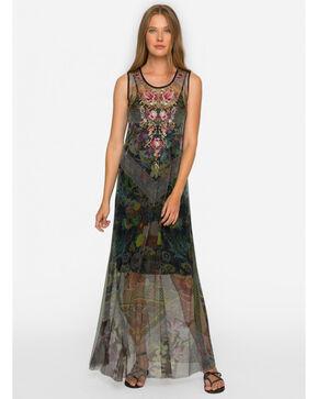Johnny Was Women's Yemasse Mesh Dress , Multi, hi-res