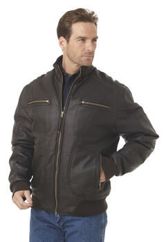 Cripple Creek Zip-front PVC Polyfill Jacket, , hi-res