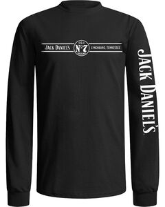 Jack Daniel's Men's Long Sleeve Tee, Black, hi-res