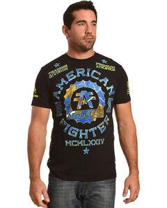 American Fighter Men's Maryland Camo Tee, Black, hi-res