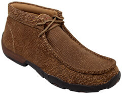 Twisted X Men's Distressed Grain Driving Mocs, , hi-res