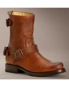 Frye Veronica Back Zip Short Boots, , hi-res
