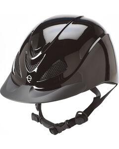 Troxel Black Liberty Riding Helmet , Black, hi-res