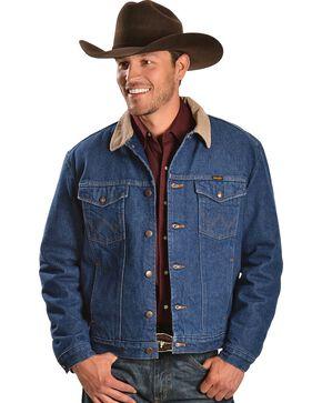 Wrangler Blanket Lined Denim Jacket, Denim, hi-res