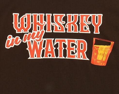 Cody James Men's Whiskey Water T-Shirt, Black, hi-res