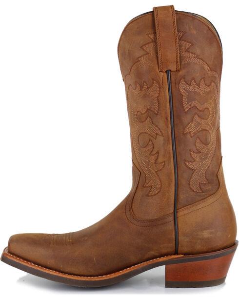 Cody James® Men's Crazy Horse Western Boots - Square Toe, Brown, hi-res