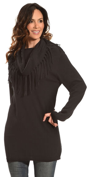 Tasha Polizzi Women's Thoroughbred Tunic, Black, hi-res