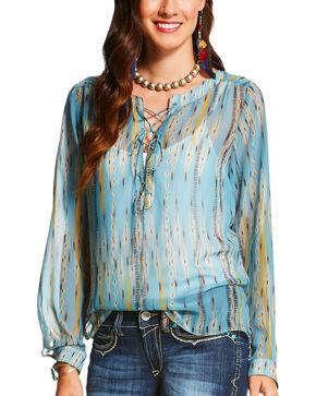 Ariat Women's Brush Long Sleeve Top, Multi, hi-res