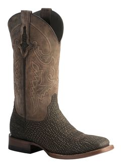 Lucchese 1883 Horseman Sanded Shark Cowboy Boots - Square Toe, , hi-res