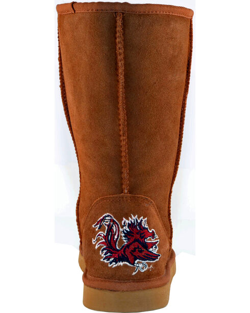 Gameday Boots Women's University of South Carolina Lambskin Boots, Tan, hi-res