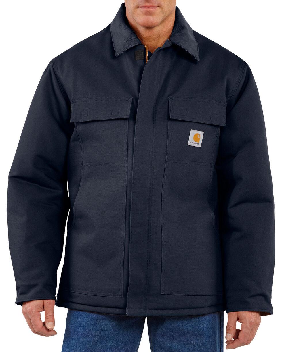 Carhartt Traditional Duck Work Jacket, Navy, hi-res