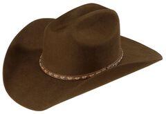 Justin Plains 2X Wool Cowboy Hat, , hi-res