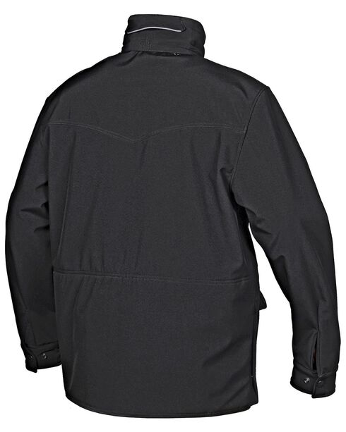 STS Ranchwear Men's Brazos Black Barn Jacket, Black, hi-res