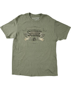 Moonshine Spirit Men's Shine Graphic Print Tee, Olive, hi-res
