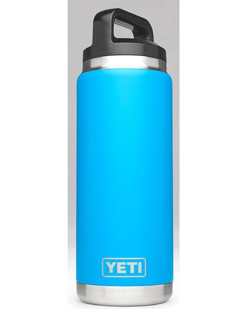 Yeti Tahoe Blue 26 oz. Bottle Rambler , Blue, hi-res