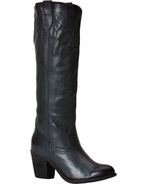 Frye Tabitha Pull On Tall Boots, Black, hi-res