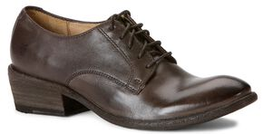 Frye Women's Carson Oxford Shoes - Round Toe, Smoke, hi-res