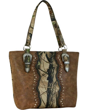 Coral Ridge Women's Camo Conceal Carry Keegan Tote , Camouflage, hi-res