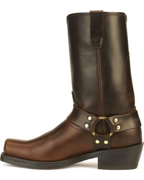 Durango Harness Cowboy Boots - Square Toe, Brown, hi-res